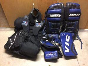 Goalie Equipment - $500