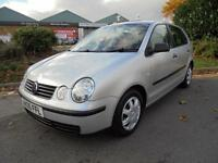 Volkswagen Polo 1.2 E 5dr£1,500 P/X PRICED TO CLEAR 2005 (05 reg), Hatchback 125