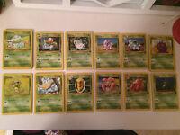 Pokemon cards - 1999 wizards