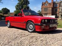 BMW E30 325i M-Tech 1 Convertible * Must See *