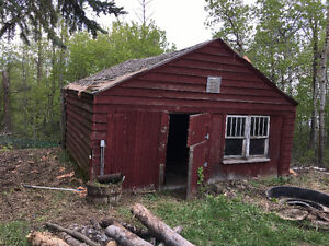 Old Horse shed building for free