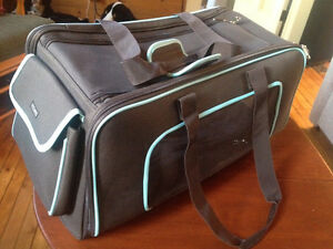"""New Collapsible Pet Carrier - LARGE Cat"" in Oliver"