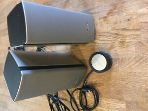 Bose computer speakers and sub