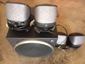 Logitech X-620 6.1 Computer Speakers for SALE