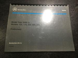 2000 Mercedes-Benz Manual E55 AMG 4MATIC SL500 CLK430 Kompressor