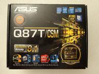 ASUS Q87T/CSM LGA 1150 Intel Q87 HDMI Thin Mini-ITX Motherboard