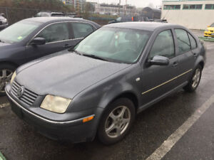 REDUCED PRICE 2004 VW jetta 246000