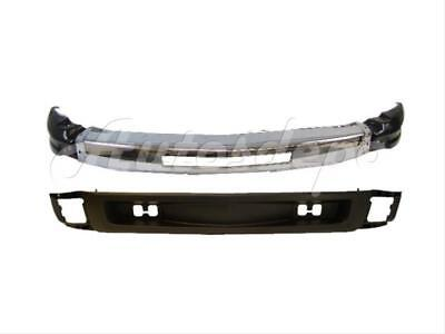 For 07-11 CHEVY SILVERADO 1500 NEW STYLE FRONT BUMPER CHR  W/HOLE CAP VALANCE 4P