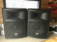 Stage line 300 watt disco speakers