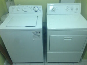 MOFFAT TOP LOAD WASHER/LAVEUSE & KENMORE FRONT DRYER/SECHEUSE
