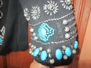 Jewelry that you wear-beaded sweater by Michael Simon Peterborough Peterborough Area image 4