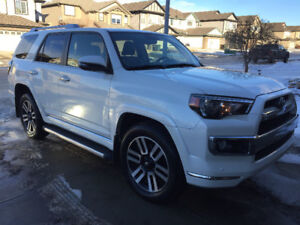 2014 Blizzard Pearl Toyota 4Runner Limited, 2 way starter
