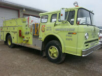 FIRE TRUCK  1977 PUMPER