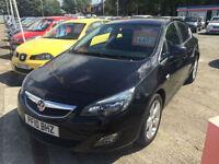 10 reg Vauxhall Astra 1.6i 16v VVT ( 115ps ) SRi BLACK