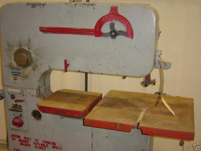 Doall Vertical Band Saw Model V36 Wpower Feed 14-34