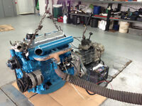 Moteur Engine diesel, transmission, transfert case