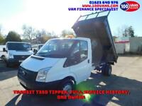 FORD TRANSIT 2.2TDCi 100PS RWD T350L MWB LOVELY CLEAN TRUCK SAME DAY FINANCE