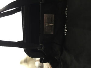 Chanel distressed calf leather