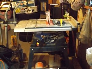 10'' Table saw/stand with laser St. John's Newfoundland image 5