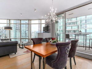 Bdms Fully Furnished Apt at Alberni / Bute Vancouver Downtown