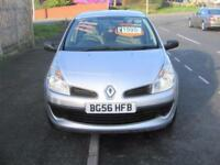56 PLATE RENAULT CLIO 1.2 EXPRESSION FIVE DOOR