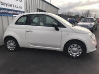 2012 Fiat 500 1.2 Pop 3dr (start/stop)