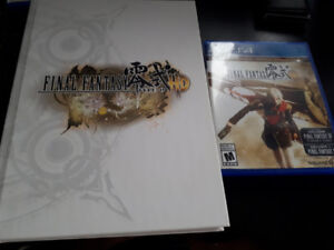 Final Fantasy Type-0 HD Game + Strategy Guide (PS4)