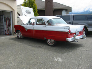 FOR SALE 55 FORD TOWN SEDAN
