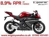 YAMAHA YZF-R125 ABS, 2018 MODEL 125cc RACE REPLICA LEARNER LEGAL SPORTS BIKE...