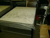 Complete brand new double bed with mattress. $399.
