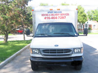 I AM A OWNER OPERATOR WITH A CUBE VAN LOOKING FOR ROUTE DELIVERY