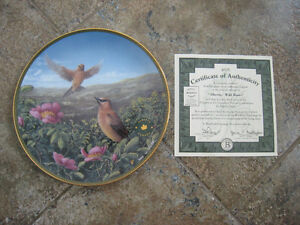 Collector's Plate – Flowers of the Canadian Provinces