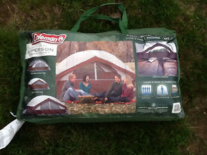 Coleman Tent, 5 person 9ft x 9ft