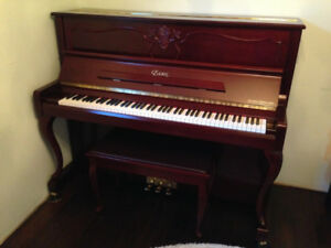 STEINWAY & SONS'-designed Essex EUP-123CL Upright Piano