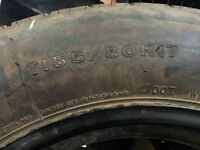 SPARE TIRES T155/80 R17
