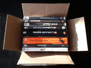 Lot of 8 PC Games (Mint - Complete)