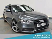2012 AUDI A4 2.0 TDI 143 Black Edition Leather Bluetooth Parksensor