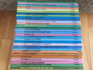 30 livres de Walt Disney pour enfants en parfait état
