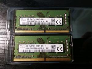 16 GB DDR4 RAM (2x8GB)