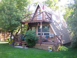 Cozy cabin at Oak Island Resort