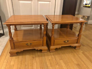 WANTED ROXTON END TABLES AND NIGHT TABLES