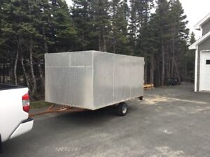 Dobule Enclosed Trailer