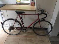 Vintage Peugeot race bike