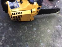 McCullough chainsaw petrol good working order
