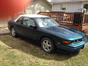 1995 olds cutlass supreme convertible for sale