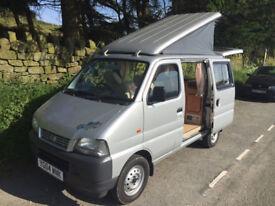 Exquisite tiny one-person camper van. Suzuki Carry 1.3. Low mileage.