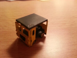 EXTREMELY RARE N Scale MOW Track Mobile Car Handmade