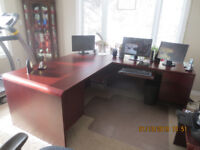 Office furniture - high quality desk and cabinet