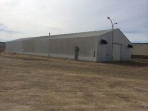 RENT/LEASE Large Heated Metal Building