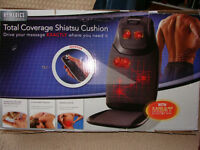 Brand New HOMEDICS TOTAL COVERAGE SHIATSU COUSHION